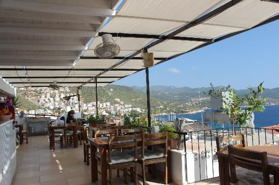Hideaway Hotel: View of Kas from the terrace