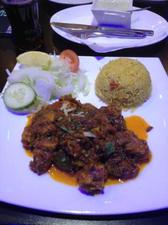 Gulshan Balti House: chicken chilli masala