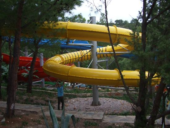 Bodrum Park Resort: Water Slides