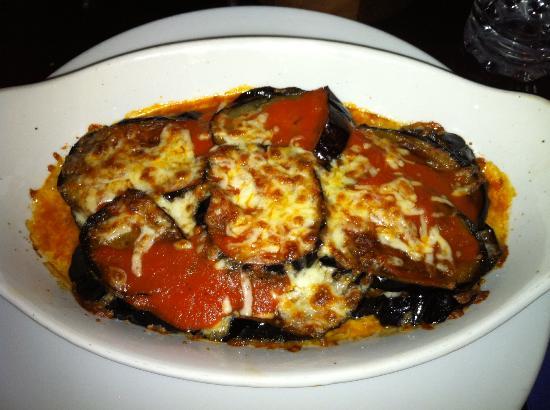 Cavallinos Restaurant: Parmigiana di melanzane