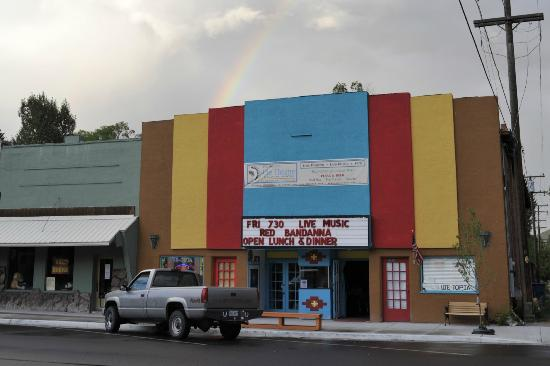 The Historic Ute Theatre: Ute-Topia Restaurant and Movie Theater