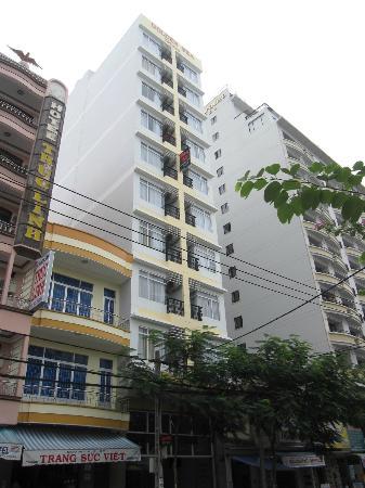 Hoang Hai (Golden Sea) Hotel: Außenansicht