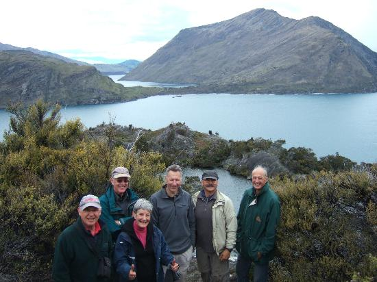 Renmore House: View from the top of Ma Wahu Island when out planting trees with Eco Wanaka a superb day