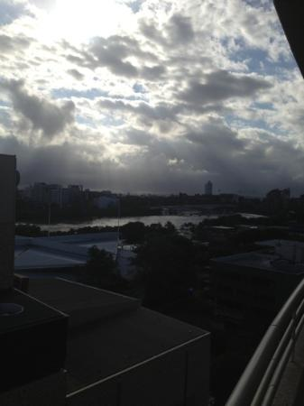 Rydges South Bank Brisbane: the view