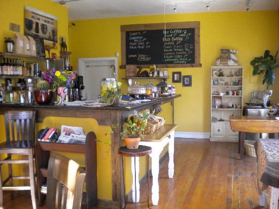 Mokka Coffeehouse: Just inside.