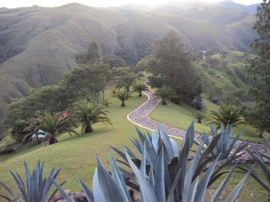 Vista del valle de Samaipata