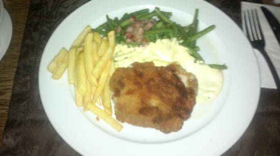 Restaurant Restaurant am Schutzenpark Zass: Världens bästa schnitzel