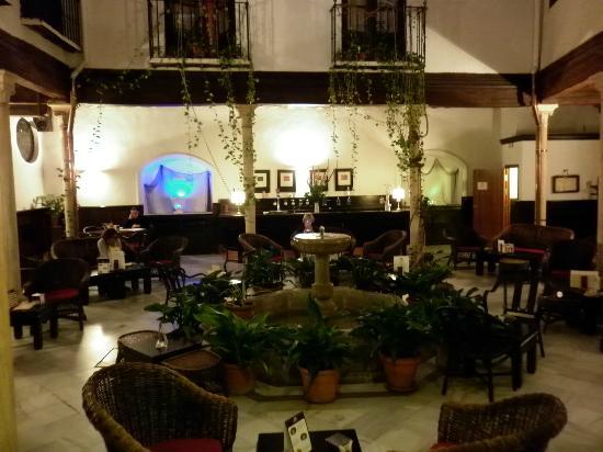 Hotel Casa del Pilar: courtyard