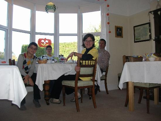 Fernhead Guest House : breakfast at Fernhead guesthouse