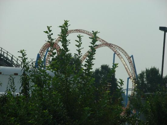 Hersheypark: View from the Hwy