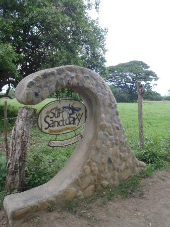 The Surf Sanctuary: At the entrance.