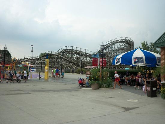 Hersheypark: Waterpark area