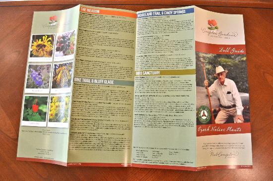 Compton Gardens and Conference Center: Compton Gardens Free Seasonal Garden Brochure