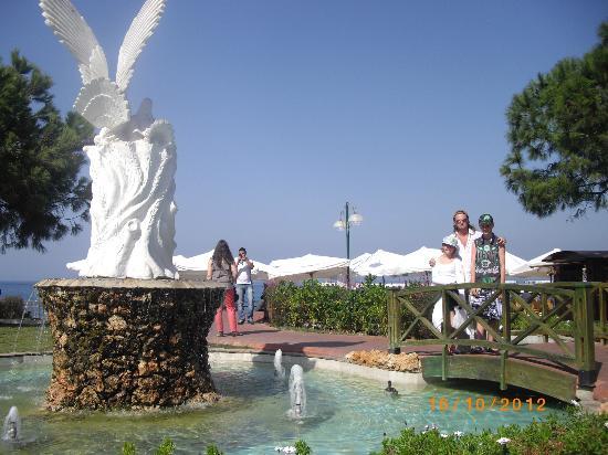 Aquafantasy Aquapark Hotel & SPA: Kusadasi town