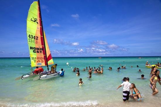 Playas de Este: The Beach at Tropicoco.