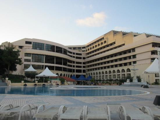 Excelsior Grand Hotel: Pool/spa area
