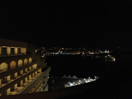 Excelsior Grand Hotel: View from my room overlooking the harbor