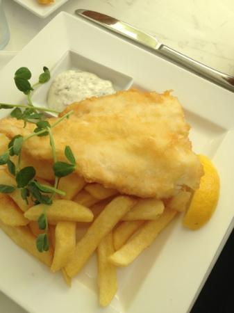 The Grove Bistro: Cod and Chips