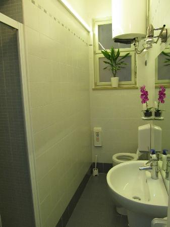 Cittadella Bed & Breakfast: one of the two bathrooms, this one is with shower