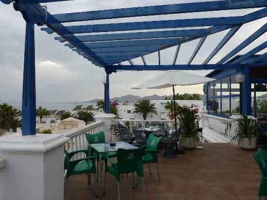 The Spinnaker Bar & Restaurant: View from Spinnaker Terrace
