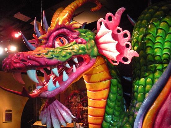 Capitol Park Museum: Mardi Gras display