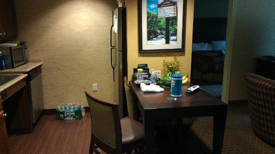 Dover, NJ: Suite kitchen
