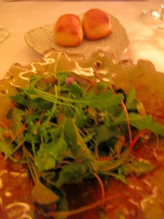 Meadowood Napa Valley: Salad-Who would dine in 3* Michelin for this? Not even with a good dressing