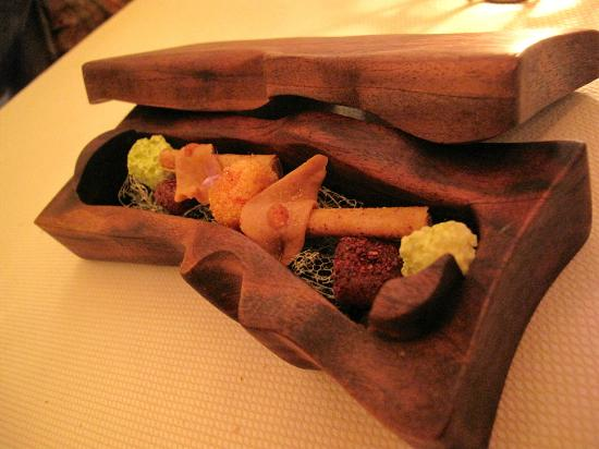 Meadowood Napa Valley: * Mignardises after dessert before the bill