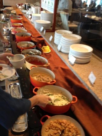 كافو ريزورت فوشاكو كوندو هوتل: ホテルの朝食ブッフェ1⃣