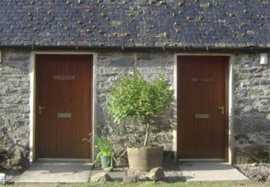 Seafield Farm Cottages: Byre and Stable Cottage Doors