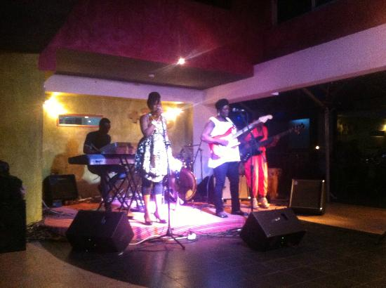 +233 Jazz Bar & Grill: The band on 31st October 2012