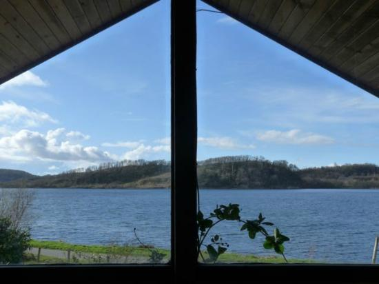 Seafield Farm Cottages: View from Kirkland Lodge