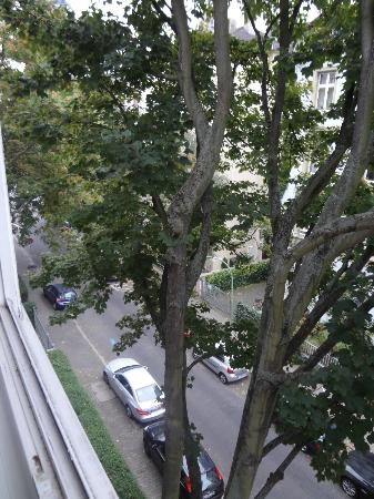 Xenios Apartments: Vista dalla camera