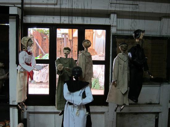 Hotel Museo Spa Casa Santo Domingo : Marionettes created in fabrica
