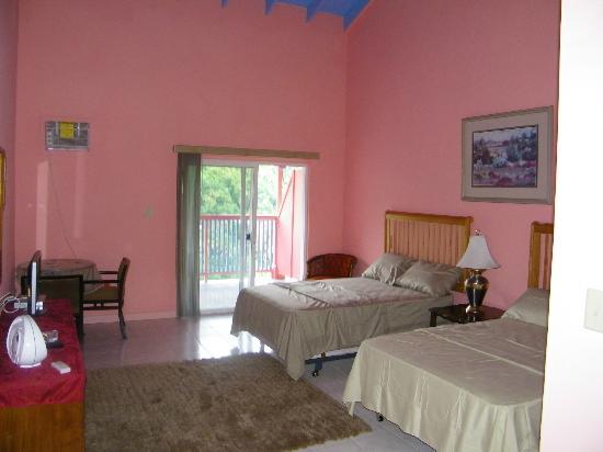 Calabash Mountain Villa: Our spacious rooms have great views