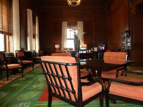 The Ritz-Carlton, Philadelphia: Club Lounge