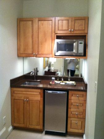 Mini kitchen area in room picture of catherine ward house inn savannah tripadvisor - Kitchen design in small space decoration ...