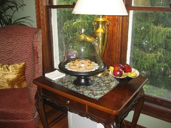 Engadine Inn & Cabins: Some of Gretchen's delicious treats