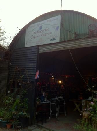 Sedlescombe Organic Vineyard: Amazing...