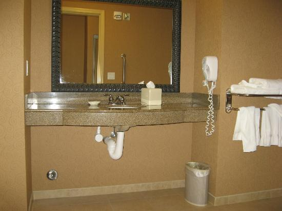 La Quinta Inn & Suites Twin Falls: Sink counter