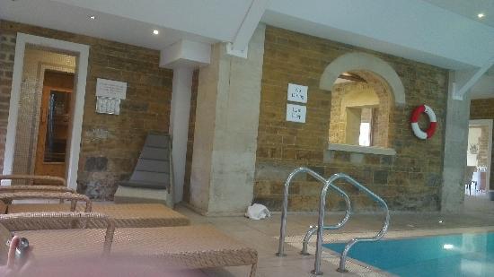Rushton Hall Hotel and Spa: spa