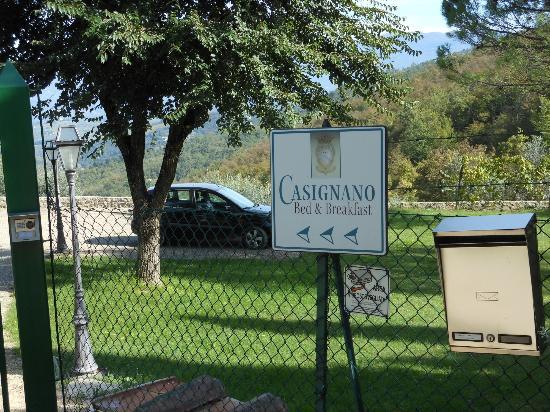 Casignano\'s B&B Gate - Picture of Casignano B&B, Bagno a Ripoli ...