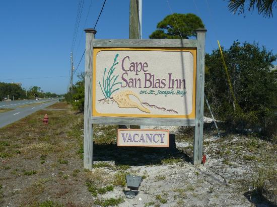 ‪‪Cape San Blas Inn‬: At the Entrance