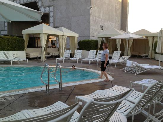 lovely pool picture of loews hollywood hotel los. Black Bedroom Furniture Sets. Home Design Ideas