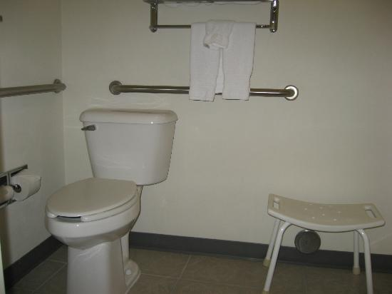 Best Western Plus Yakima Hotel: Toilet area