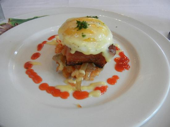 Commander's Palace: Brunch Appetizer - Bacon & Eggs
