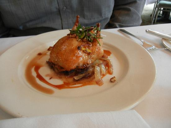 Commander's Palace: Brunch Entree - Candy Apple Lacquered Quail