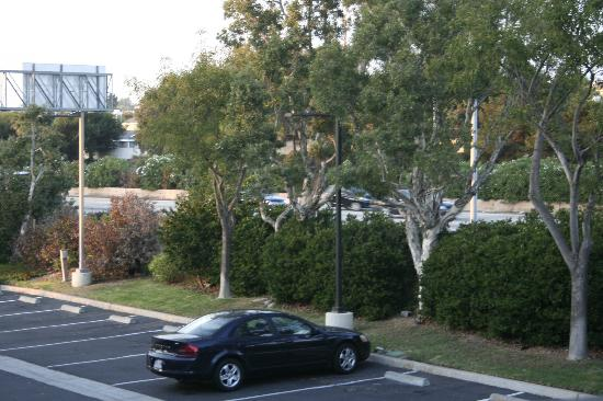 Ramada Carlsbad: View from our room. Busy I5 right there.