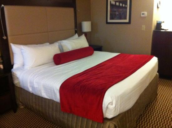Crowne Plaza Boston Woburn: I loved this bed!!!