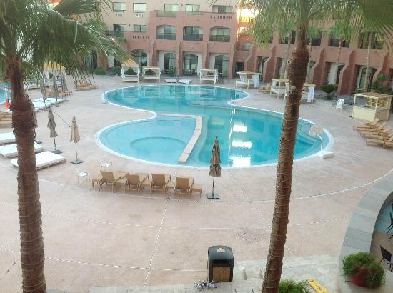 Penasco Del Sol Hotel: la alberca desde la habitación